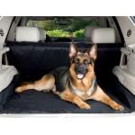 Evcil Hayvan Araç Arka Koltuk Kılıfı - Siyah  (Taşıma Çantası Hediye)