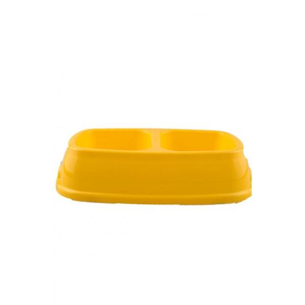 Evcil Hayvan Mama Ve Su Kabı (Sarı)