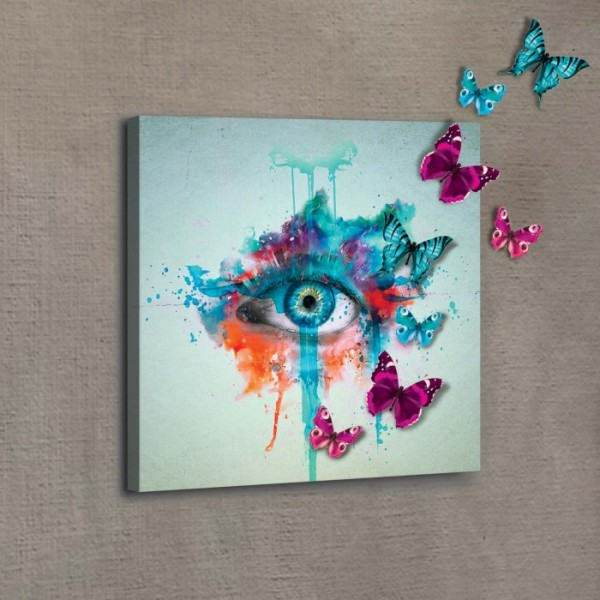 Eye On The Sky 40x40 cm 3D Kanvas Tablo