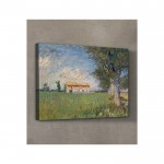 Farmhouse in a Wheat Field 50x70 cm