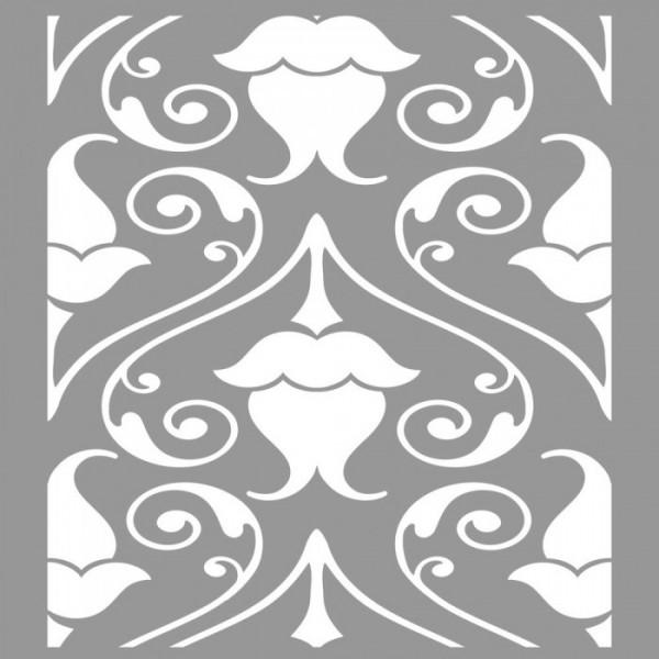 Fındık Desen Stencil Tasarımı 30 x 30 cm