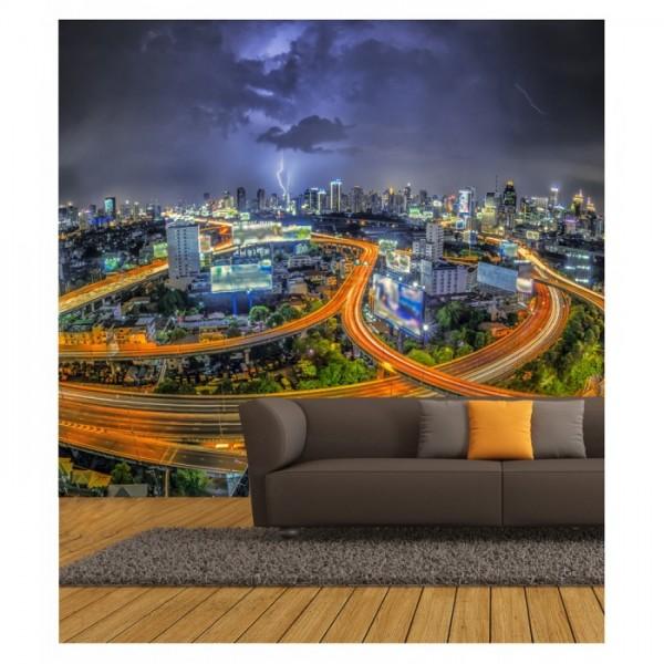 Fırtınalı Gece 178x126 cm Duvar Resmi