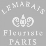 Fleuriste Stencil Tasarımı 30 x 30 cm