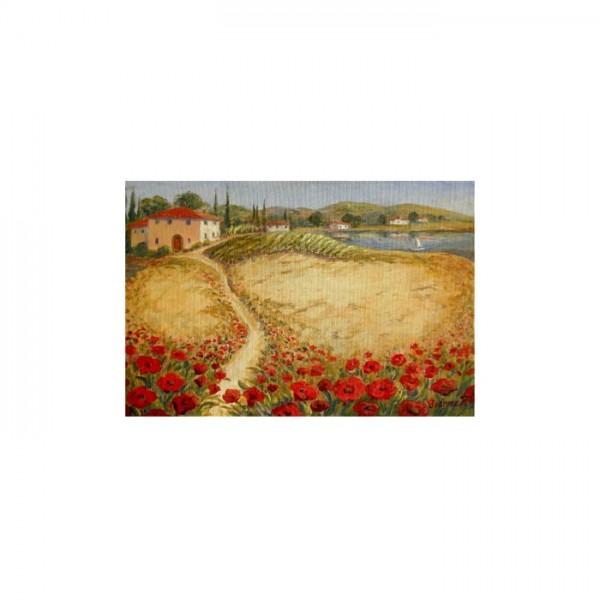 Floral Paradise 2 Parça Kanvas Tablo 60X40 Cm