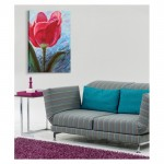 Flower For Love Kanvas Tablo 50X70 Cm