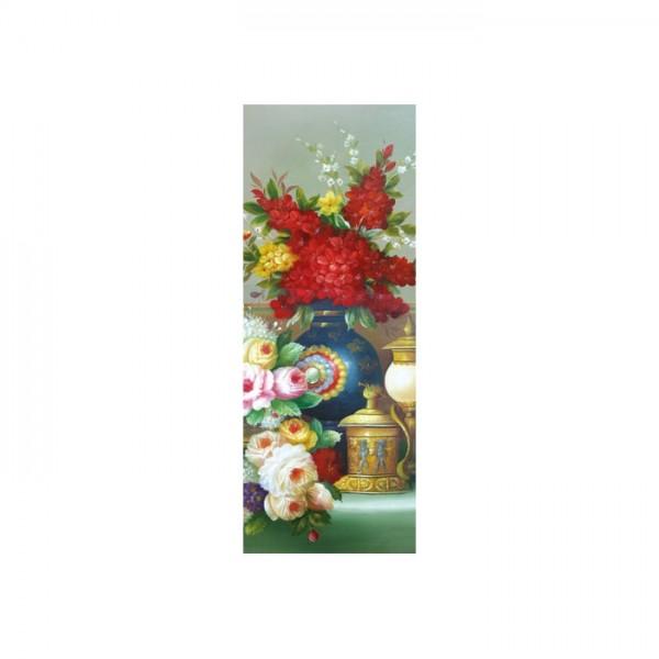 Flower Of Life Kanvas Tablo 40X120 Cm