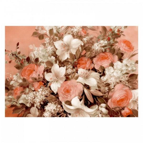 Flowers 95x70 cm Kanvas Tablo