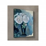 Flowers in a Blue Vase 50x70 cm