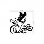 For Your Love Kadife Duvar Sticker 101X96 Cm