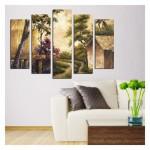 Forest 95x70 cm Kanvas Tablo