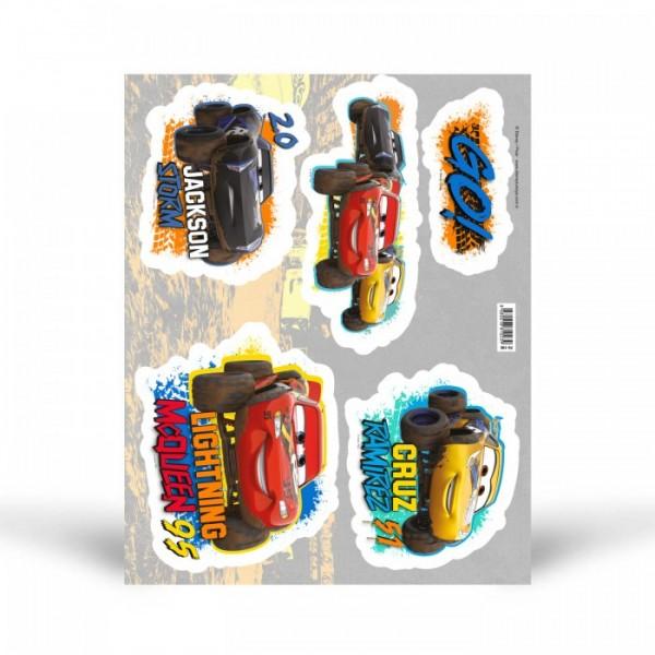 Fosforlu Duvar Sticker Cars 29 Cm