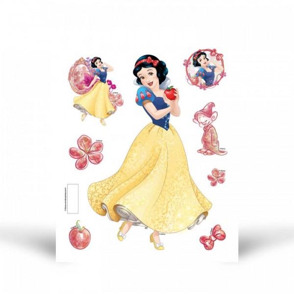 Fosforlu Duvar Sticker Pamuk Prenses 19 Cm