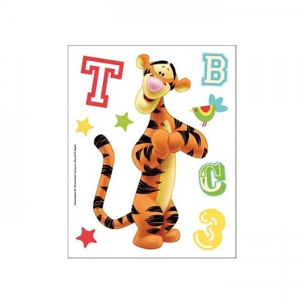 Fosforlu Duvar Sticker Tiger 19 Cm