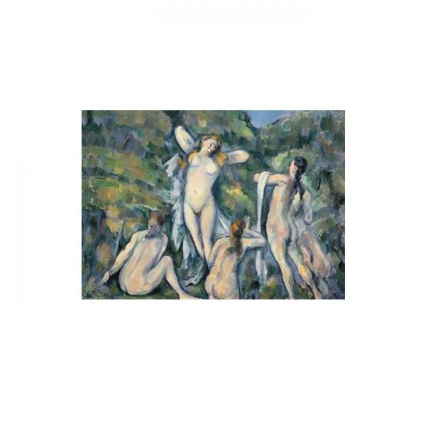 Four Bathers 50x70 cm