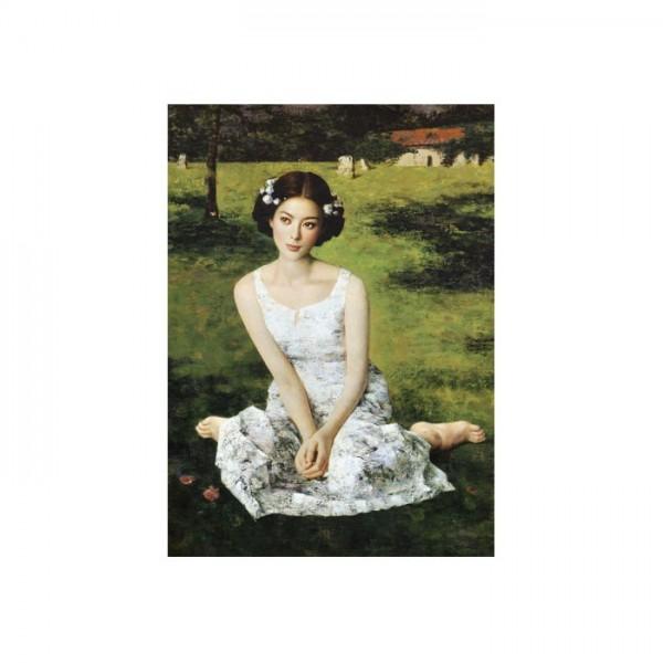 Fragile Girl Kanvas Tablo 50X70 Cm
