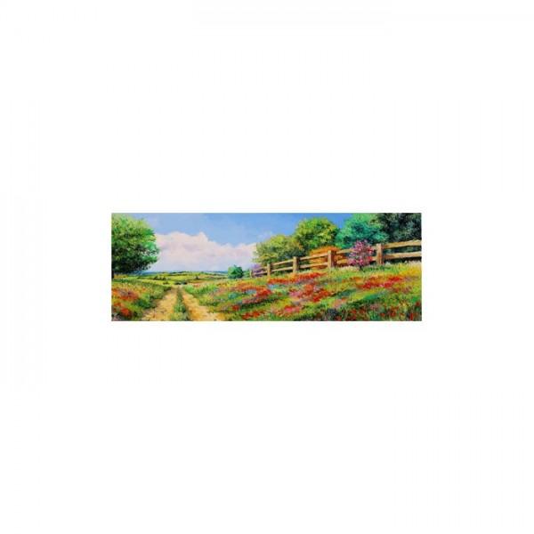 Fragrant Flowers Kanvas Tablo 40X120 Cm