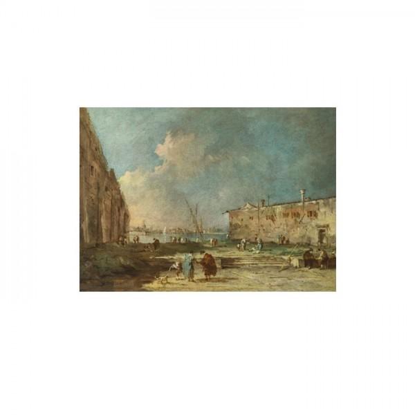 Francesco Guardi - A View Near Venice 50x70 cm
