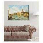 Francesco Guardi - Venice - The Doge's Palace and the Molo 50x70 cm