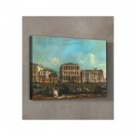 Francesco Guardi - Venice - The Grand Canal with Palazzo Pesaro 50x70 cm