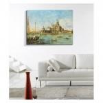 Francesco Guardi - Venice - The Punta della Dogana 50x70 cm