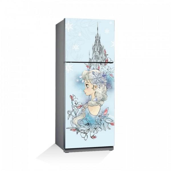 Frozen-1 Buzdolabı Sticker