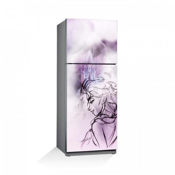 Frozen-2 Buzdolabı Sticker