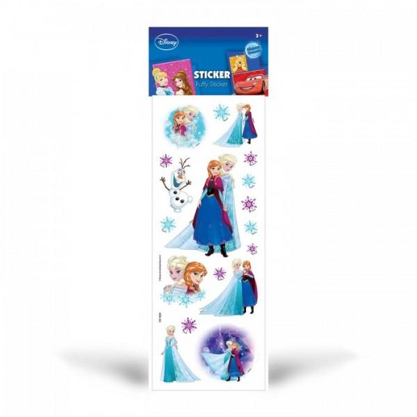 Frozen Puffy Sticker 6,5x17 cm, Puffy Çıkartma, Puffy Yapıştırmaları