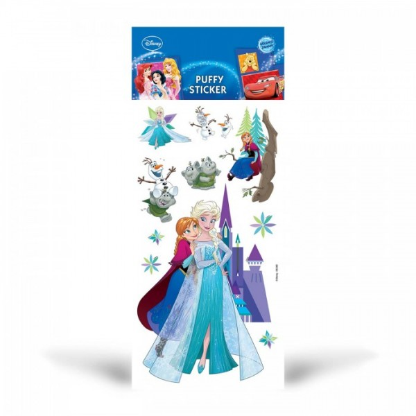 Frozen Puffy Sticker, Puffy Çıkartma, Frozen Yapıştırmaları