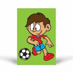 Futbolcu-1 Tuz Boyama