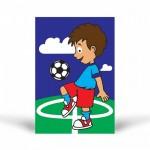 Futbolcu-2 Tuz Boyama