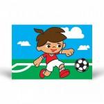 Futbolcu-3 Tuz Boyama