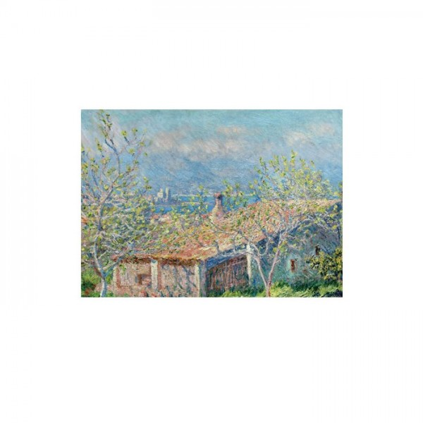 Gardener's House At Antibes 50x70 cm