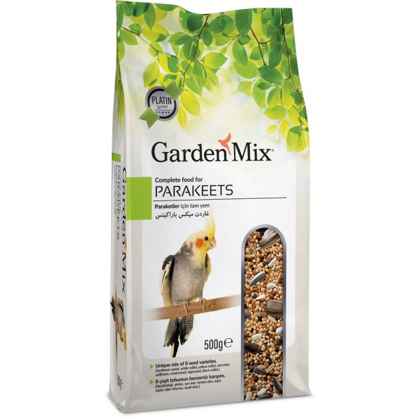 Gardenmix Parekeets Papağan Yemi 500 gr