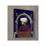 Gentile Bellini - The Sultan Mehmet II 50x70 cm