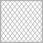 Geometrik Desen - 10  Stencil Tasarımı 30 x 30 cm