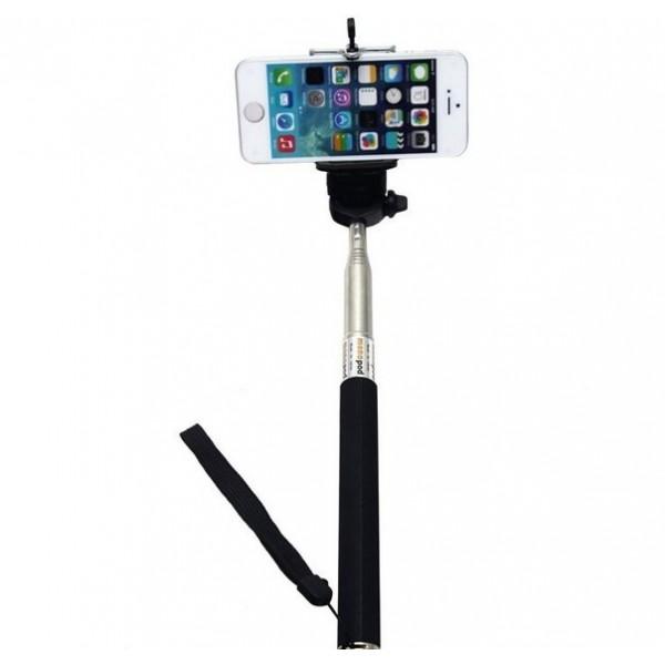 3.5mm Jak Girişli Tüm Telefonlara Uygun Selfie Özçekim Çubuğu