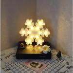 Kartanesi Şeklinde Led Işıklı Dekoratif Masa ve Duvar Lambası