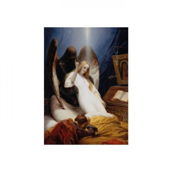 Émile Jean-Horace Vernet - The Angel of Death 50x70 cm