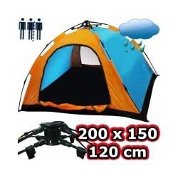 Otomatik Kurulumlu Kamp Çadırı 2-3 Kişilik (150x200)