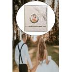 Düğün Fotoğraf Resim Saklama Albümü Özel Pullu İşlemeli Tasarım