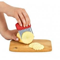 Pratik Patates Meyve ve Sebze Doğrama Bıçağı