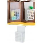 Dolap Kapağına Asılabilir Mutfak Dolap Düzenleyici Plastik Sepet