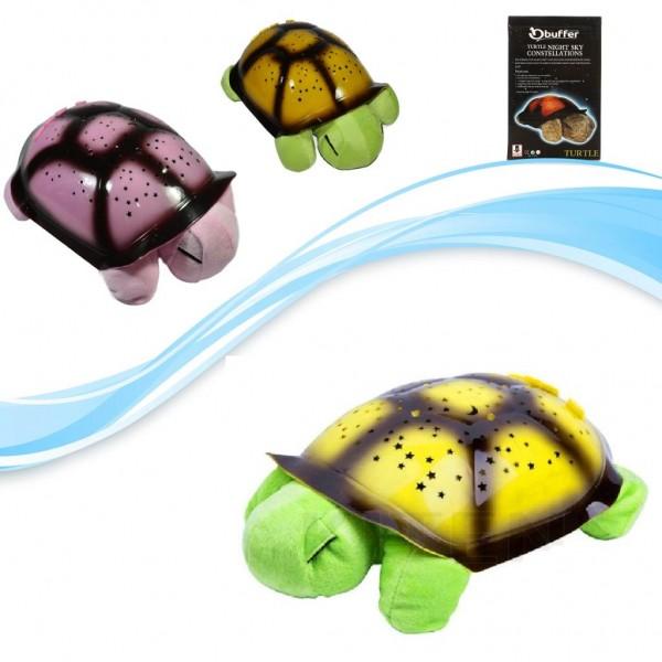 Türkçe Ninnili Kaplumbağa Gece Lambası (Yeşil)