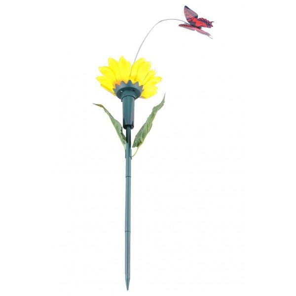 Bahçe Süsü İçin Solar Uçan Sevimli Kelebek Dekoru