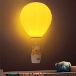 Balonlu Ayıcıklı Eğlenceli Dekoratif Gece Lambası Aydınlatması
